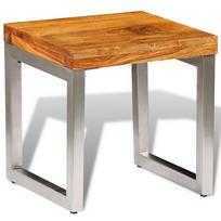 Vidaxl - Table basse en bois sheesham solide