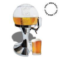 Distribution de bière en forme de ballon