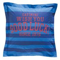 Catimini - Champions Taie d'oreiller Bleu - 50 x 75 cm