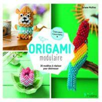 Inedite - origami modulaire ; 20 modèles à réaliser pour déstresser