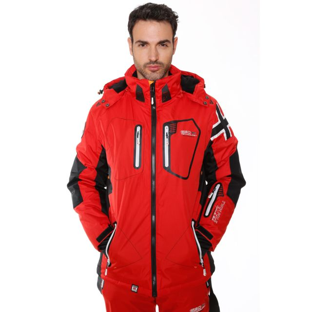 De Winner Ski Cher Geographical Pas Norway Achat Blouson Rouge ETq7xgfw