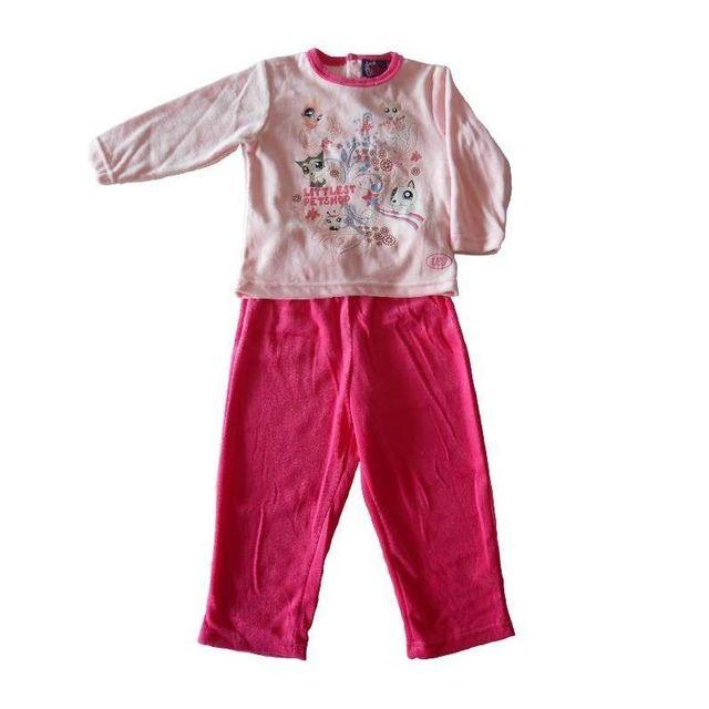 d15ee7f5eaab8 Littlest Petshop - Pyjama en velours - pas cher Achat   Vente Pyjamas -  RueDuCommerce