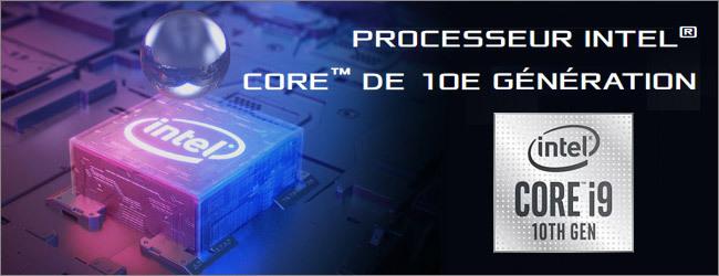 Processeur Intel Core i9 10th