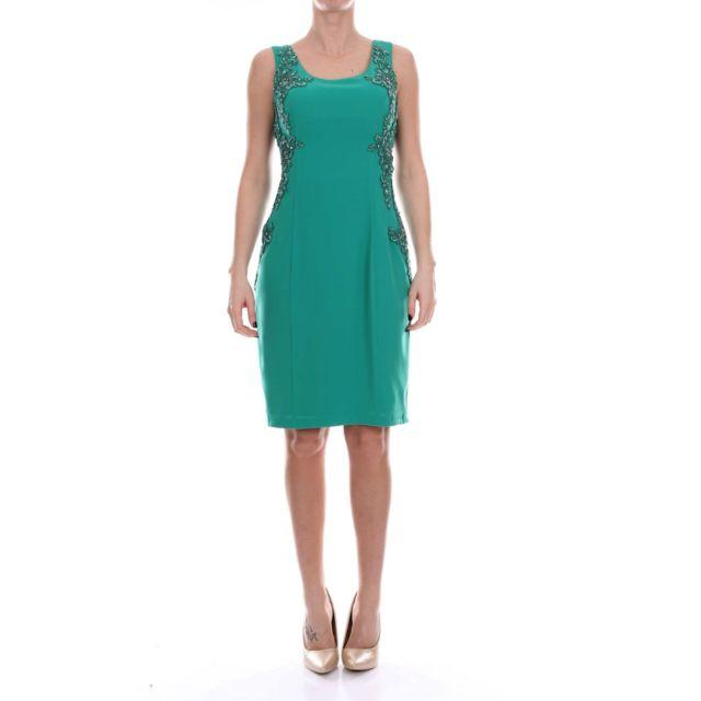 Carlo Pignatelli Femme 36DD3430AQUAMARINE Vert Polyester Robe