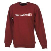 Teddy Smith - Sweat Strat burgundy sweat Rouge 12162