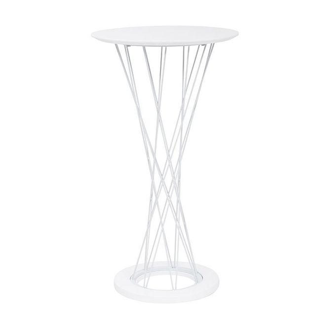 Tuoni Table de bar Pure Design Ghibli - Blanc