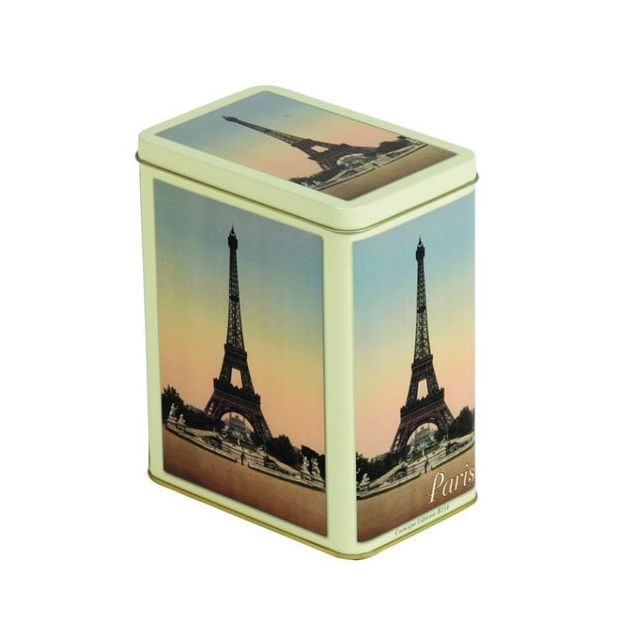 Paris Boite rectangulaire métallique
