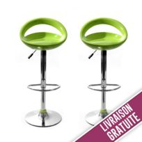ce4bf7446b82f5 tabouret de bar vert - Achat tabouret de bar vert pas cher - Rue du ...