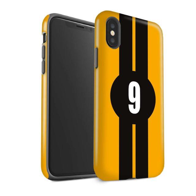 coque apple iphone xs jaune