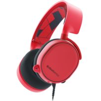 STEELSERIES - Casque Gaming Arctis Solar Red