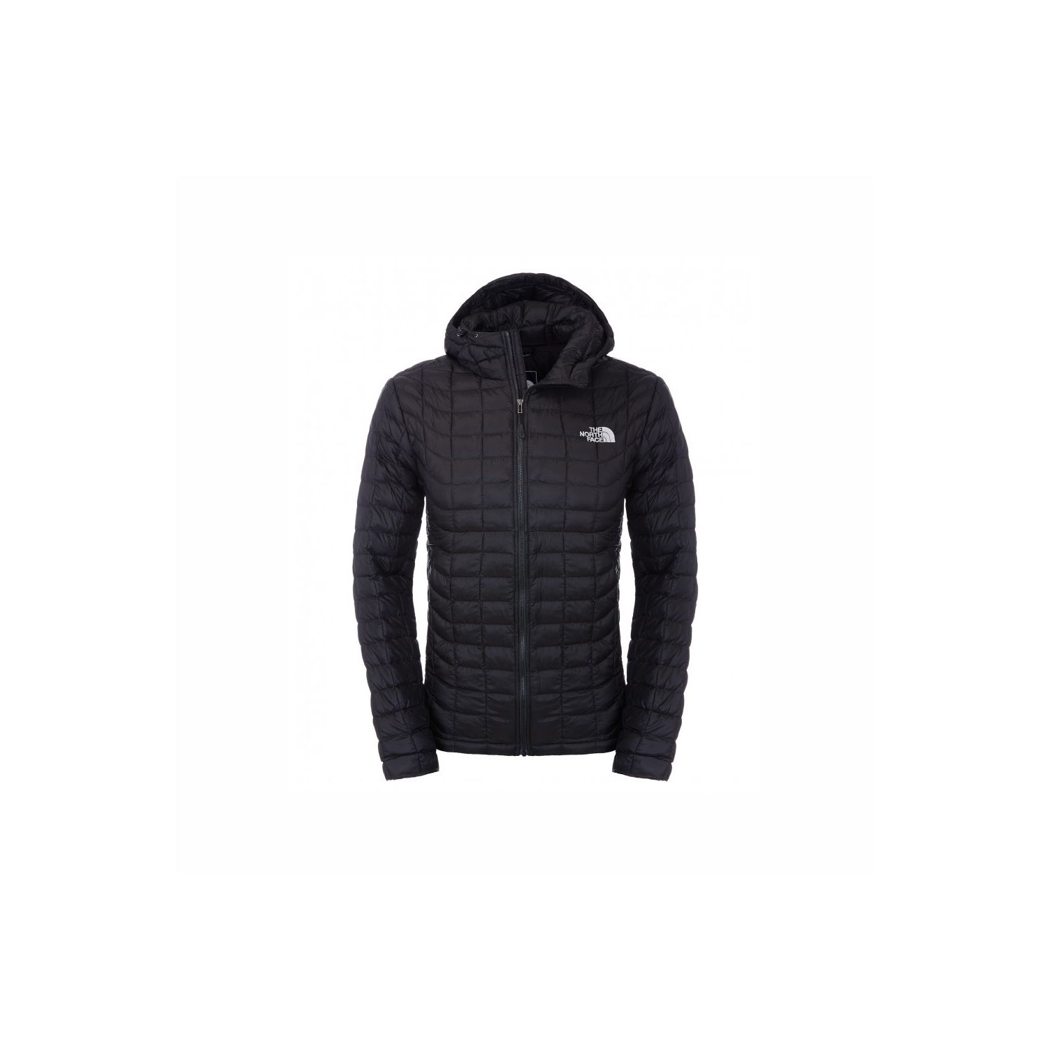 THE NORTH FACE- Doudoune Thermoball Hoodie M - Noir c1791fa71bfc