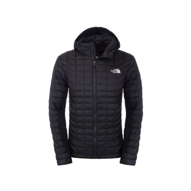 Cher Achat M Doudoune Noir Pas Hoodie Face The Thermoball North Cw8RRqO