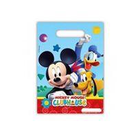 Lot 6 Sachet Surprise Mickey Mouse Sac Cadeau Bonbon Fête Anniversaire 120