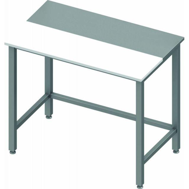 Materiel Chr Pro Table de Découpe Inox - Sans Dosseret - Profondeur 700 - Stalgast - inox 800x700 700
