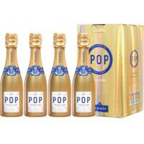 Champagne Pommery - Coffret de 4 Gold Pop Vintage 2008 4 x 20cl