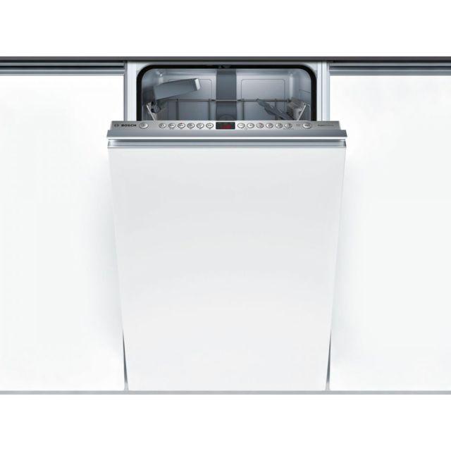 bosch lave vaisselle tout int grable encastrable 44db a 9 couverts 45cm panier rackmatic. Black Bedroom Furniture Sets. Home Design Ideas