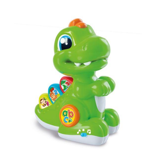 Clementoni Baby T-rex interactif avec détecteur