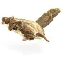 Folkmanis - Puppets - 2580 - Marionnette Et ThÉÂTRE - Flying Squirrel
