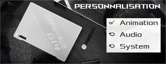 ASUS - Personnalisation