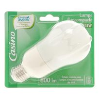 Casino - Eco80 Lampe Standard 15W E27 Co