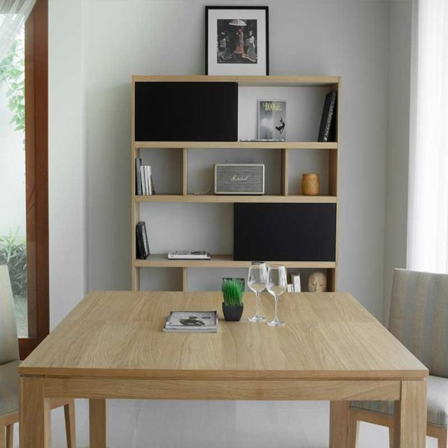 Table A Manger Chene Massif.Table De Salle A Manger Extensible Nathan 140 190cm Chene Massif