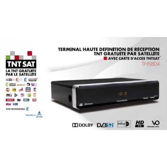 Récepteur Satellite Tnt Hd Ths804 Noir à Prix Carrefour