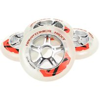 Kryptonics - Roues de roller Next 100 mm/84a race Blanc 10113