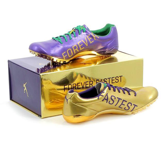 Puma Chaussures à pointes d'athlétisme Bolt Evospeed