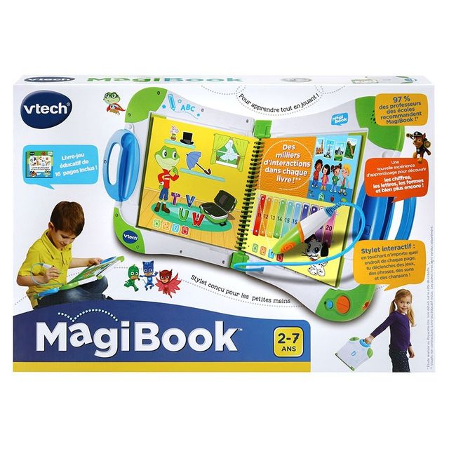 VTECH MagiBook Starter Pack - Vert - 602105