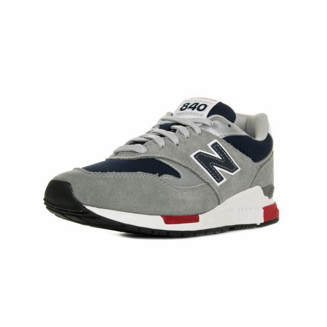 New Balance 840 Gris, Bleu marine, Rouge 42 12 pas cher Achat