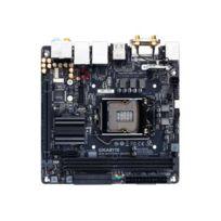Gig - Ga-h170N-WIFI - 1.0 - carte-mère - mini Itx - Socket Lga1151 - H170 - Usb 3.0, Usb-c - Bluetooth, 2 x abit Lan, Wi-Fi - carte graphique embarquée unité centrale requise audio Hd 8 canaux