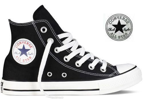 Converse - Chaussures All Star Chuck Taylor Noir 580
