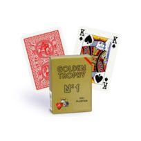 Modiano - Cartes Golden Trophy 4 index Regular rouge