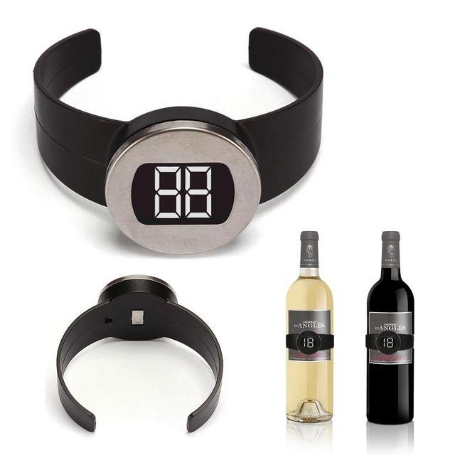 Toolland Thermomètre à vin numérique