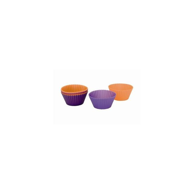 Ibili Lot De 6 Moules A Madeleines Silicone 7X
