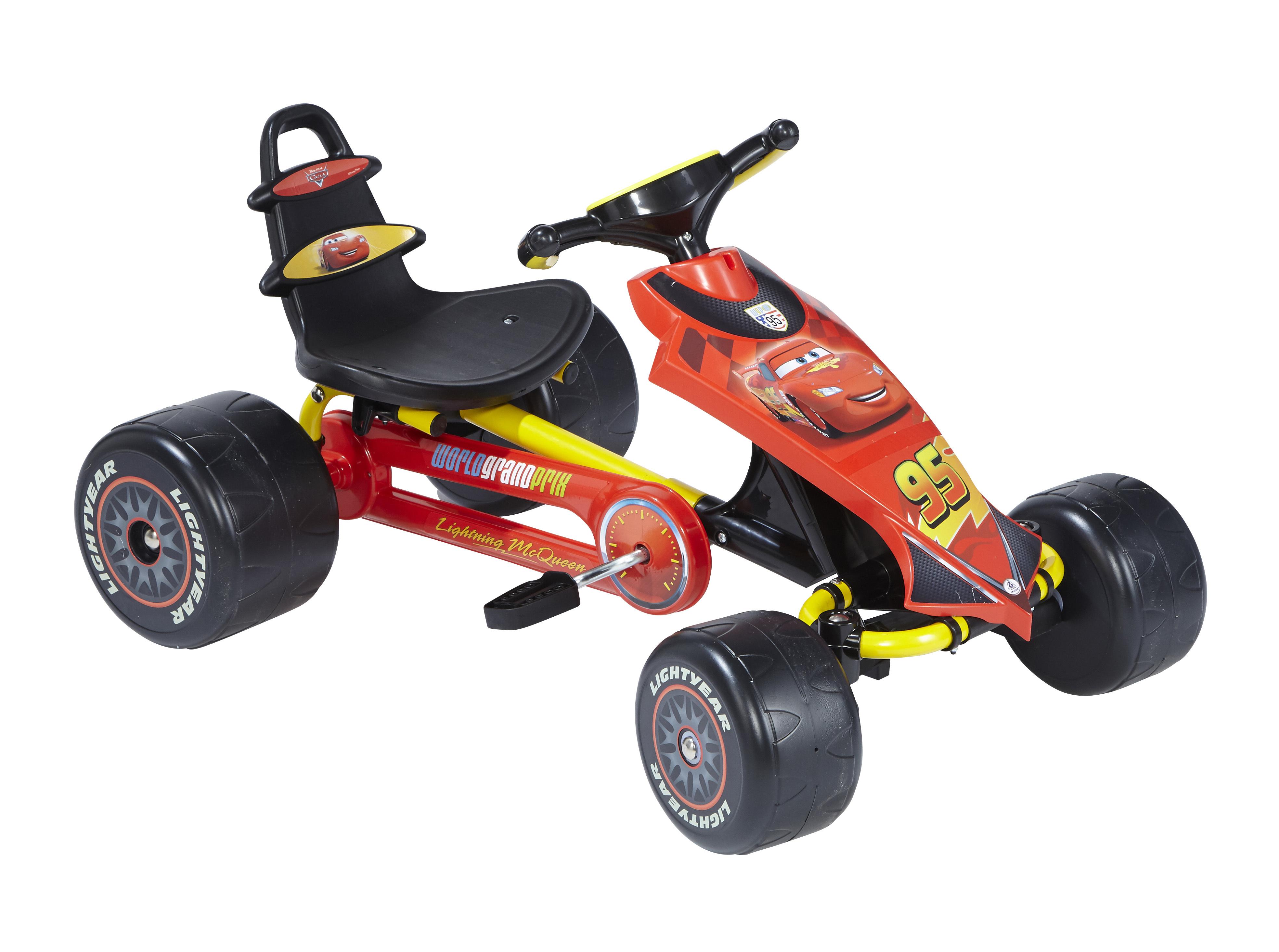 Cars go kart p dales rouge 4125 pas cher achat for Go kart interieur