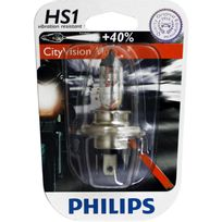 Philips - Ampoule phare CityVision Moto +40% Hs1 12 Volts