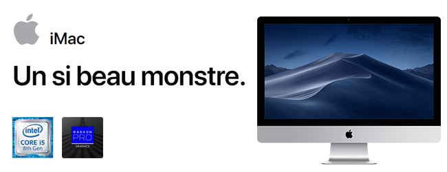 iMac 27 pouces avec écran Retina 5k