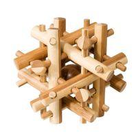 Fridolin - Casse Tête Bambou Baguettes Magiques - Gigamic