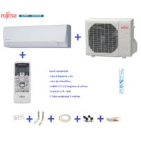 Fujitsu - Climatiseur Atlantic Asyg 12 Llcc- 4Kw kit 3 mètres
