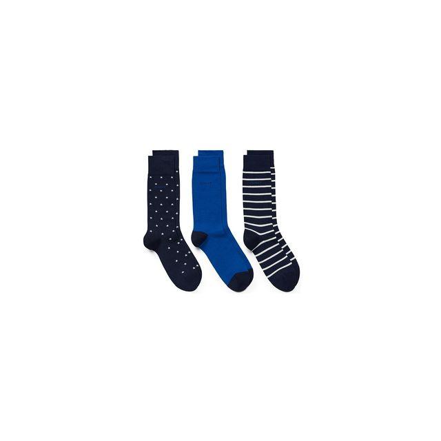 b0178e0f49d Gant - chaussette pack de 3 - pas cher Achat   Vente Chaussettes ...