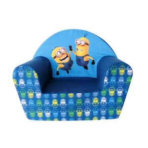 universal fauteuil club minions en mousse pour enfant. Black Bedroom Furniture Sets. Home Design Ideas