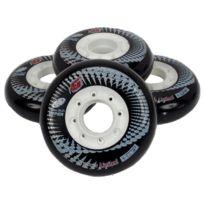 Hyper - Roues de roller Concret+g ltd 76mm/84a 4 Noir 15645