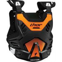 Marque Generique - Pare-pierre Moto Cross Sentinel Gp Protector Thor-xl / 2XL Noir Orange-2701-0755