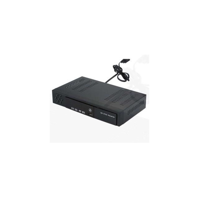 Auto-hightech Boîte de récepteur de signal de convertisseur de télévision numérique Full Hd pour les Etats-Unis / la Corée