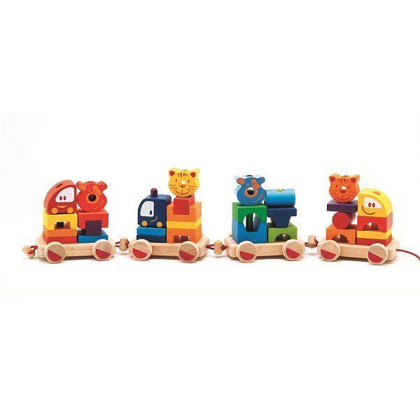 Djeco Cubes Créaroule : Mon petit train