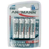 Ansmann - 4 Piles Lithium Lr06