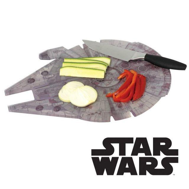 Kas Design Planche à Découper Faucon Millenium Star Wars