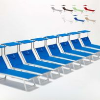 Beach And Garden Design - Bain de soleil chaises longue transats L
