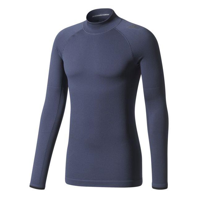 Adidas T shirt manches longues Techfit Climaheat pas